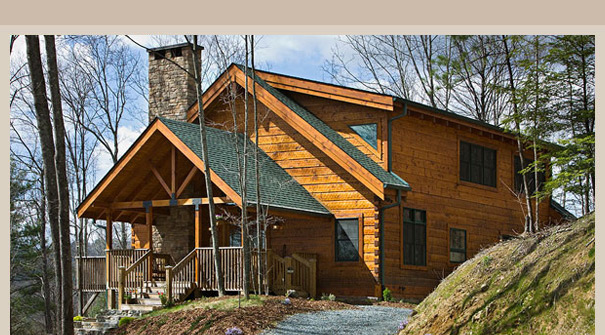 Logs america log homes log home builder for Complete home construction